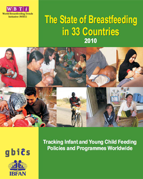 "Report ""The State of Breastfeeding in 33 Countries: 2010, Tracking Infant and Young Child Feeding Polices and Programmes Worldwide"""