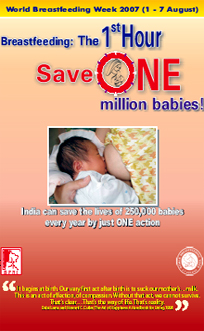 Breastfeeding: The 1st Hour - Save ONE million babies!
